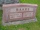 Profile photo:  Bertha <I>Lundt</I> Baars