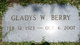 Profile photo:  Gladys <I>Weatherbee</I> Berry