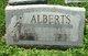 Profile photo:  Alvin Burnett Alberts