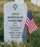 Profile photo:  Arlis White Man Runs Him