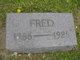 "Profile photo:  Frederick Charles Theodore ""Fred"" Baars"