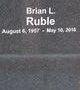 Profile photo:  Brian L Ruble