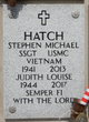 Profile photo:  Stephen Michael Hatch
