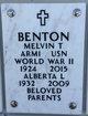 "Profile photo:  Melvin Theodore ""Mel"" Benton"