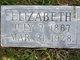 """Elizabeth Jane """"Lizzy"""" <I>Devlin</I> Turner"""