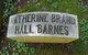 Katherine Brand <I>Hall</I> Barnes