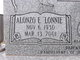 "Profile photo:  Alonzo E. ""Lonnie"" Cheek"