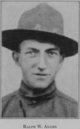 Profile photo: Pvt Ralph Winthom Adams