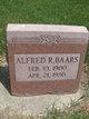 Profile photo:  Alfred Robert Baars
