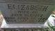 """Elizabeth """"Lizzie"""" Blevins"""