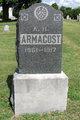 Profile photo:  Abraham Henry Armacost
