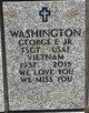 Profile photo:  George E Washington, Jr