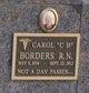 "Profile photo: Mrs Carol ""C B"" <I>Roberts</I> Borders"