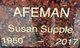 Profile photo:  Susan <I>Supple</I> Afeman