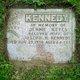 "Sarah Jane ""Jennie"" <I>Keyes</I> Kennedy"