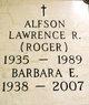 Barbara E <I>Gallenberger</I> Alfson