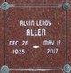 Alvin Leroy Allen