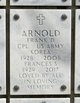 Profile photo: CPL Frank Dyson Arnold, II