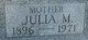 Julia M <I>Forringer</I> Chaplain