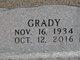 Profile photo:  Ernest Grady Reed