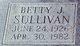 Profile photo:  Betty J. Sullivan