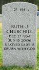 Ruth Janet Churchill