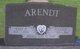 Profile photo:  Kurt P. Arendt