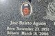 Jose Baleto Aguon