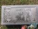 Mary Virginia <I>Lane</I> Alberd