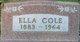 Ella Cole