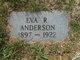 Profile photo:  Eva R Anderson