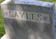 Profile photo:  Sayles