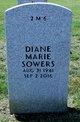 Profile photo:  Diane Marie Sowers