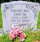 Profile photo:  Timothy Ray Cain, Sr