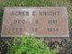 Profile photo:  Agnes Elizabeth <I>Moreland</I> Knight