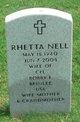 Profile photo:  Rhetta Nell Brinlee