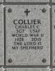 Profile photo: SGT Charles C Collier