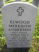 "Sgt Elwood Meredith ""Woody"" Anderson"