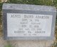 Profile photo:  Agnes <I>Baird</I> Adamson