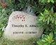 Profile photo:  Timothy E. Abbey