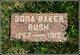 Cora <I>Baker</I> Rush