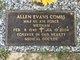 Profile photo: Dr Allen Evans Combs
