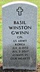 Profile photo:  Basil Winston Gwinn