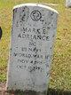 Profile photo:  Mark E. Adriance