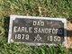 Profile photo:  Earle E. Sandford