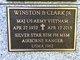 MAJ Winston Blanton Clark, Jr