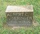 Profile photo:  Albert Cereanous DeRinger