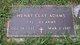 Henry Clay Adams