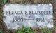 Elzada E <I>Giles</I> Blaisdell