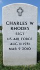 Profile photo:  Charles W Rhodes